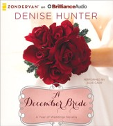 A December Bride: A Year of Weddings novella unabridged audiobook on CD