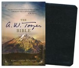 The A. W. Tozer Bible: KJV Version, Flexisoft leather black thumb-indexed