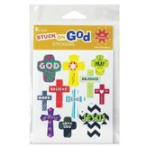 Cross, God Sticker Pack