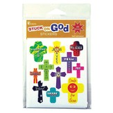 Cross, Awesome God Sticker Pack