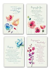 Watercolor Prayers, KJV Scripture, Boxed Cards