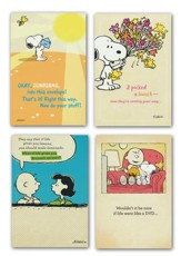 Peanuts, Get Well, Boxed Cards