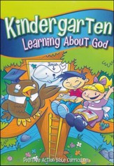 Learning About God Teacher's Manual on CD-ROM (Kindergarten  K5)