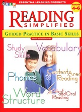 Reading Simplified: Guided Practice in Basic Skills, Book 5, Grades 4-6