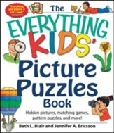 The Everything Kids' Picture Puzzle Book: Hidden Pictures, Matching Games, Pattern Puzzles