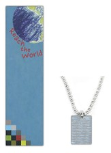 Jeremiah 29:11 Dog Tag Pendant, Reach the World Mission