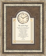 Lord's Prayer Framed Art Clock