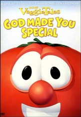 God Made You Special VeggieTales DVD