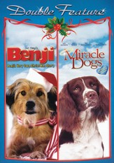 Benji's Very Own Christmas Story/Miracle Dogs, Double Feature DVD