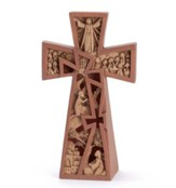Christ Is Risen Tabletop Cross