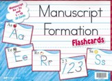 Manuscript Formation Flashcards Grades K-1