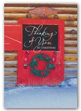 Thinking Of You At Christmas, Christmas Cards, Box of 18