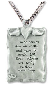 Kind Words Can Be Short Necklace