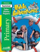 Bible Adventures Primary (Grades 1-2) Take-Home Papers