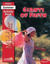 Giants of Faith Middler (Grades 3-4) Activity Book