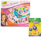 Crayola Jewelry Boutique with Bonus Model Magic Clay