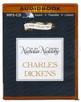 Nicholas Nickleby - unabridged audiobook on MP3-CD