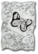 Hope Butterfly Plaque