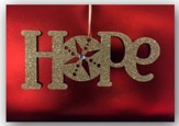 Hope Christmas Cards with Ornament, Box of 8