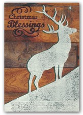 Christmas Blessings, Christmas Cards, Box of 18