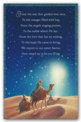 Three Wise Men, Christmas Cards, Box of 18