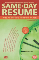 Same-Day Resume, Second Edition
