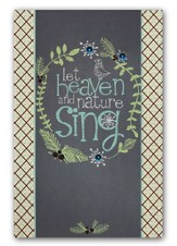 Let Heaven and Nature Sing, Christmas Cards, Box of 18