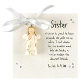 A Sister Is Great, Angel Ornament