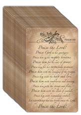 Praise the Lord, Encouragement Cards, Pack of 24