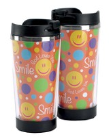 Smile God Loves You Travel Mug