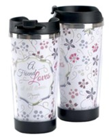 A Friend Loves At All Times Travel Mug