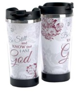 Be Still and Know That I Am God Travel Mug
