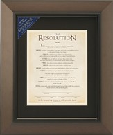 The Resolution Framed Print, Courageous Movie