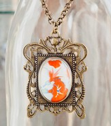 Redeemed Framed Necklace