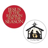 Jesus Is The Reason & Holy Night Projector Nightlight Slide