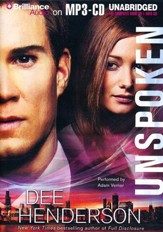 Unspoken - unabridged audiobook on MP3-CD