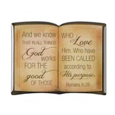 And We Know That In All Things God Works For the Good, Bible Magnet
