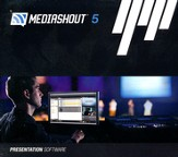 MediaShout 5 Full on CD-ROM