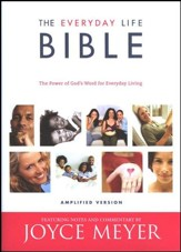 Joyce Meyers' Everyday Life Bible Hardcover Amplified Version - Slightly Imperfect