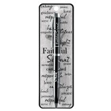 Faithful Servant, Pen, Micah 4:5, Chrome