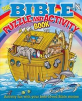 The Bible Puzzle & Activity Book: Enjoy Stories, Solve Puzzles, Finish Doodles