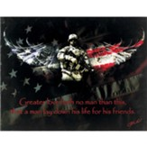 No Greater Love, American Soldier Wall Art