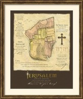 I Will Bless Those Who Bless Israel Framed Art
