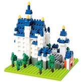 Nanoblock Sights To See, Neuchwanstein Castle