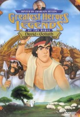 David and Goliath, Greatest Heroes and Legends of the Bible DVD