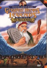 The Story of Moses,  Greatest Heroes and Legends of the Bible DVD