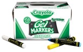 Crayola, Gel FX Markers, Classroom Set 8 Colors 80 Pieces