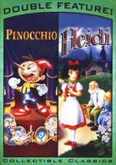 Pinocchio/Heidi, Double Feature DVD