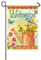 Welcome Blooms Flag, Small