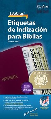 Bible Tabbies, Spanish, Large Print